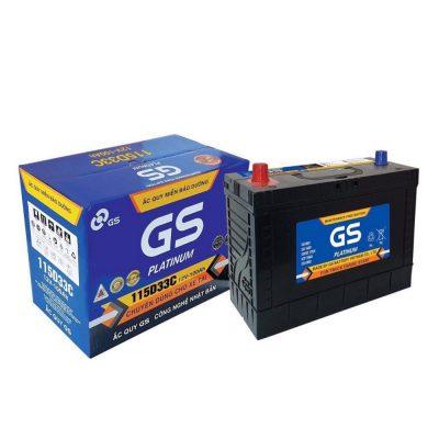 Ắc quy GS 12V 100AH 115D33C MF